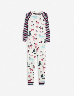 Hatley Puppy-print cotton pyjamas 2-10 years
