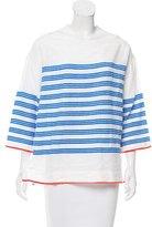 Lemlem Striped Oversize Top