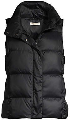 Eileen Fisher Women's Recycled Polyester Quilted Puff Vest