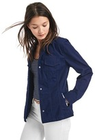 Gap Embroidered-trim utility jacket