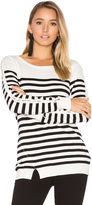Central Park West Baton Rouge Stripe Sweater