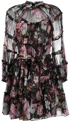 Zimmermann Charm floral-print mini dress