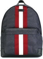Bally contrast stripe backpack