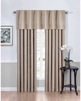 Bed Bath & Beyond Vivianna Sound AsleepTM Room Darkening Back Tab Top Window Curtain Panel