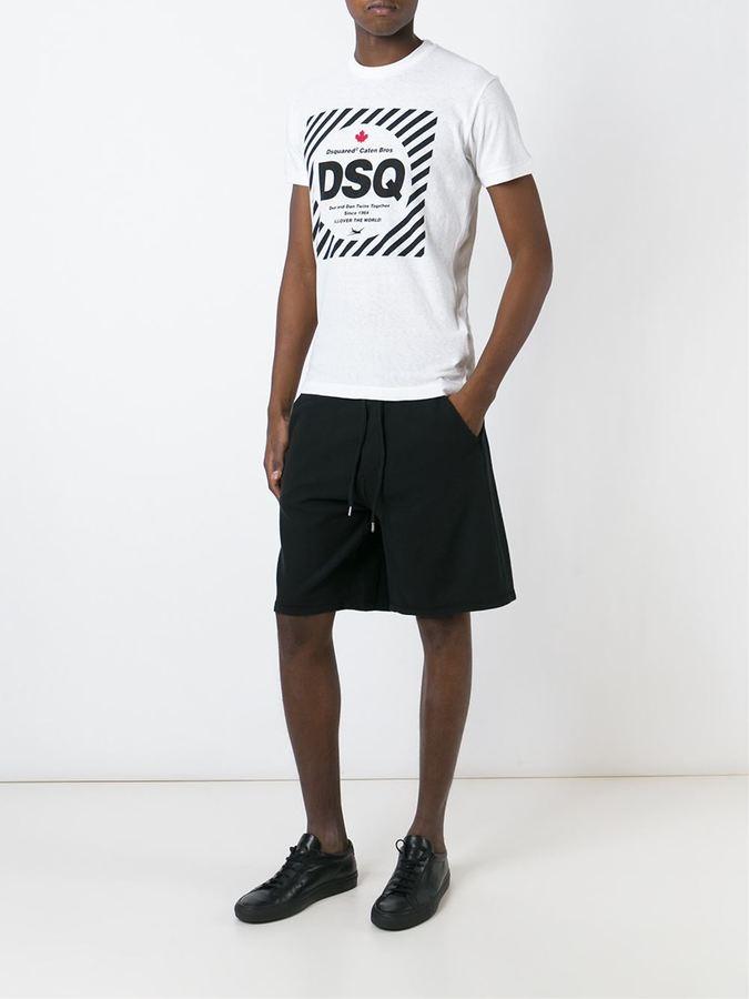DSQUARED2 track shorts