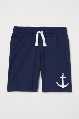 H&M Printed Jersey Shorts