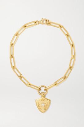 Foundrae Per Aspera Ad Astra 18-karat Gold Diamond Bracelet