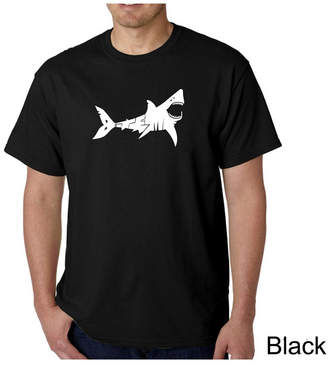 La Pop Art Men Word Art T-Shirt - Bite Me