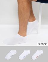 Ben Sherman 3 Pack Trainer Socks