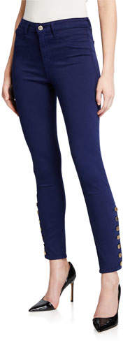 L'Agence Piper High-Rise Skinny Jeans