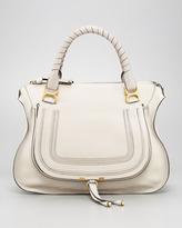 Chloé Marcie Large Shoulder Bag, Dove
