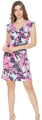 Aryeh Mint Floral Dress