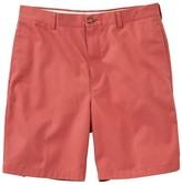 """L.L. Bean L.L.Bean Men's Wrinkle-Free Double LA Chino Shorts, Natural Fit Plain Front 8"""" Inseam"""