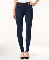 INC International Concepts Faux-Suede Curvy Leggings, Only at Macy's