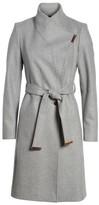Ted Baker Women's Wool Blend Long Wrap Coat