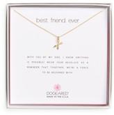 Dogeared Women's Best Friend Ever Pendant Necklace