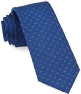 The Tie Bar Royal Blue Sparkler Medallions Tie