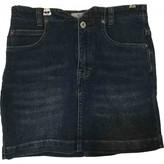 Free People Blue Denim - Jeans Skirts
