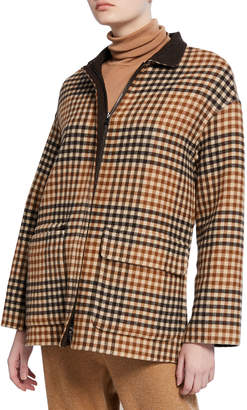 Loro Piana Giubb Cashmere Scotland Argyle Belted Sweater