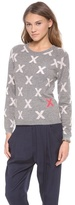 Chinti and Parker Crosses Sweater