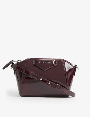 Givenchy Antigona Nano patent leather shoulder bag