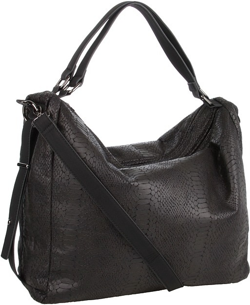BCBGMAXAZRIA BCBGeneration - Brie Convertible Hobo (Black) - Bags and Luggage