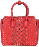 MCM Mini Milla Studded Leather Shoulder Bag