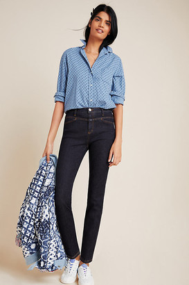 Closed Pusher High-Rise Skinny Jeans By in Blue Size 25