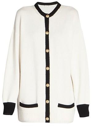 Saint Laurent Lady Cashmere Cardigan Sweater