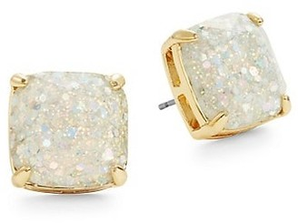 Kate Spade Glitter Square Stud Earrings
