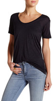 David Lerner Boyfriend Scoop Neck Tee