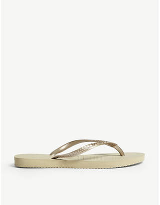 The White Company Havaianas rubber flip-flops