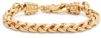 Emanuele Bicocchi Espiga Wheat-chain Gold-plated Bracelet - Mens - Gold