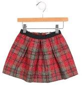 Bonpoint Girls' Plaid Pleated Skirt