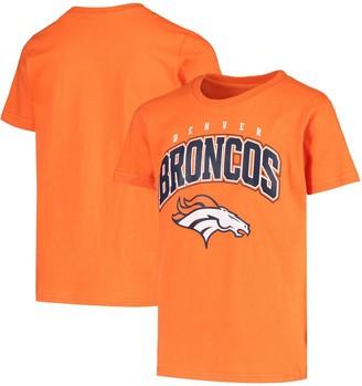 Outerstuff Youth Orange Denver Broncos Stripes T-Shirt
