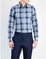 Tom Ford Western Checked Slim-fit Cotton Shirt