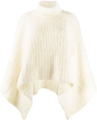 Jacquemus Turtleneck Knitted Poncho
