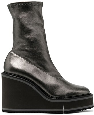 Clergerie Bliss wedge boots