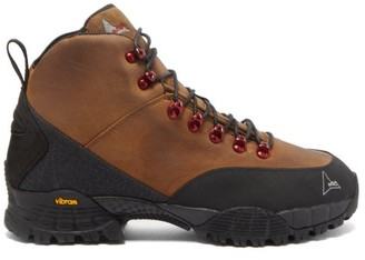 ROA Andreas Kudu-leather Hiking Boots - Brown