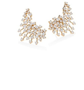 Hueb Luminus Diamond & 18K Yellow Gold Earrings