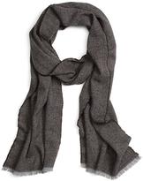 Brooks Brothers Plain Weave Wool Scarf