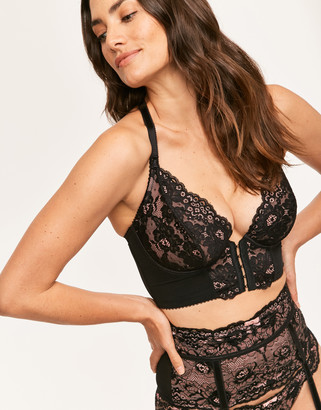 Pour Moi? Amour Accent Front Fastening Underwired Bralette