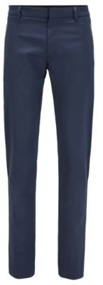 BOSS Slim-fit trousers in a cotton blend