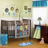 CoCalo Peek-a-boo Monsters 7-piece Crib Bedding Set by