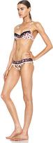 Chloé Polyamide-Blend Printed Bikini in Multi