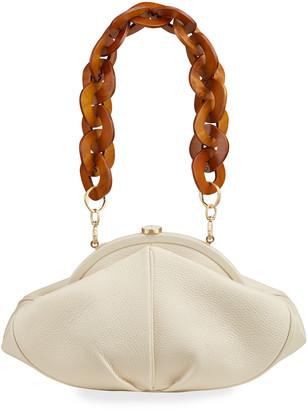 Cult Gaia Anna Leather Shoulder Bag