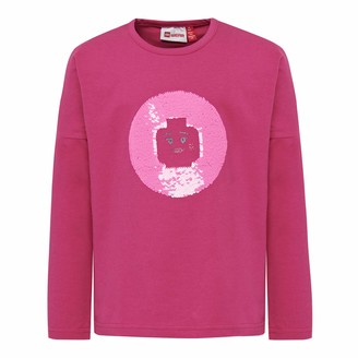 Lego Wear Girls' LWTIPPI mit Wendepailletten Longsleeve T-Shirt