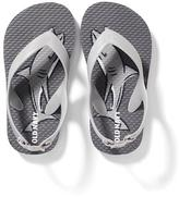 Old Navy Printed Flip-Flops for Toddler