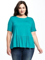 Old Navy Relaxed Plus-Size Peplum Top