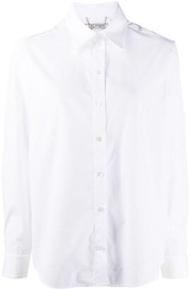 Ports 1961 Long-Sleeved Curved Hem Shirt